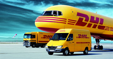 Express Parcel deliveries with UPS, DHL, FedEx & TNT